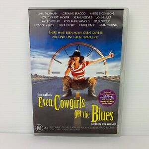 Even The Cowgirls Get The Blues DVD Uma Thurman Keanu Reeves PAL R4 Free Post