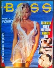 Boss Luglio 1995 - Pamela Anderson Marylin Monroe Heather Parisi Erotic magazine