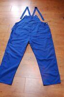 Chore Dungarees Vtg French Blue Work Overalls 4XL SIZE XXXXL Workwear Pants Bib