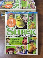 Shrek The Ultimate Collection (Blu-ray, 2019, 7-Disc Set) + Digital brand new !