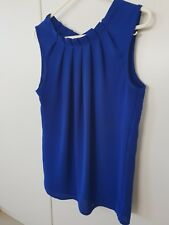 Forcast Womens Top Size 8 Blue