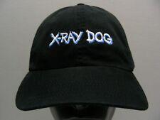 Rayos X perro - Negro -100% Algodón- Ajustable Tira Trasera Gorra sombrero