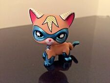 Littlest Pet Shop Comic Con Super Hero Masked Cat LPS RARE USA SELLER