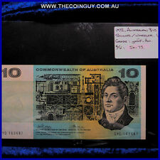 1972 Australian Ten Dollar Notes ghEF-Au Phillips/Randall