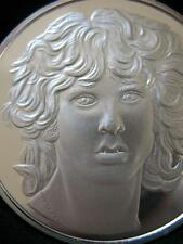1-OZ.999 SILVER LIMITED RARE PROOF LOW #16 OF 100 JIM MORRISON THE DOORS  + GOLD