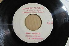 LESLIE LEVY AND THE TENDERTONES devil woman JAMAICAN ORIGINAL 45 roots reggae