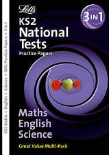 KS2 English,Maths and Science (SATs/National Tests Practice Paper Folders), Educ