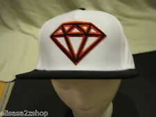 Men/'s black RARE trucker hat cap 1998 Diamond supply CO company one size fits