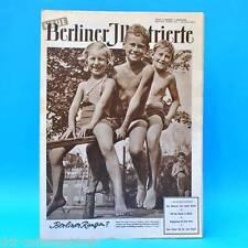 NBI 24/1954 DDR - Queen Elisabeth in Afrika Kindermode Prag Berlin Haut-Typen W