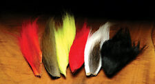 HARELINE DUBBIN -- 6 BUCKTAIL  HAIR PIECES COMBO -  fly tying streamer wing