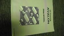 2008 Toyota Avalon Electrical Wiring Diagram Service Shop Repair Manual EWD 08