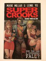 Supercrooks #2 Icon Marvel Comics (2012) VF/NM Millar Yu