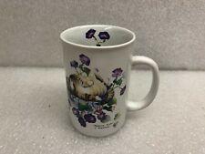 "Vintage Cat Mug ""Morning Glory"" Valerie Pfeiffer Capilano"
