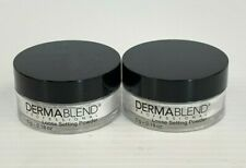 2 Pk Dermablend Professional Loose Setting Powder, .18 Ounce (New)