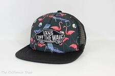 Vans Classic Patch Flamingo Pool Beach Vibes Trucker Hat Snapback Mens New NWT