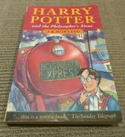 Harry Potter And The Philosopher's Stone - Australian First Edition - 16th Print