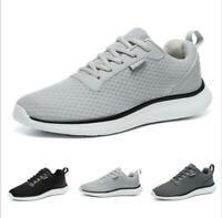 Casuals Shoes Men Fashion Breathable Mesh Comfort Sneaker Walking Running Trail