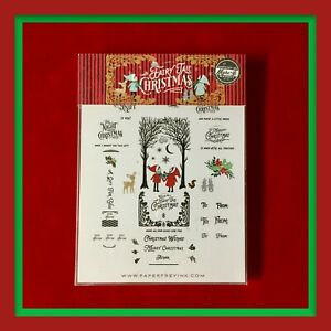 """RARE & Fabulous!  PAPERTREY INK """"Fairy Tale Christmas"""" Stamps & Dies ***NEW***"""