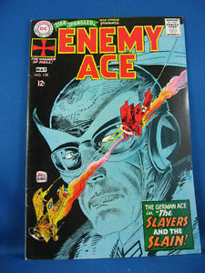 STAR SPANGLED WAR STORIES 138 Fine VF Enemy Ace Kubert  1968