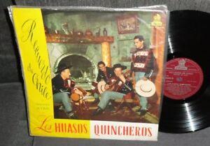 Los Huasos Quincheros – Recuerdo De Chile LP 1964 Odeon LDC-36302 Chilean folk