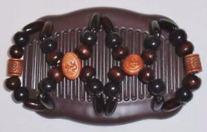 """Angel Wings Hair Clips 4x3.5"""", African Butterfly Style, Magic Combs, Quality S48"""