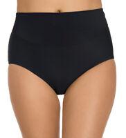NWT Miraclesuit Women's Amoressa Solid Bikini Bottoms Martini Black Size 10