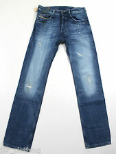 NUEVO Diesel timmen 8MY de Superdry 008MY 30X34 Regular Fit Straight Leg RRP £ 150