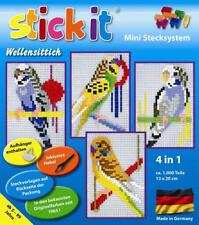 Mini Stecksystem Wellensittich 4 in 1 ca. 1.000 Teile Nr. 41013