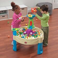 Playset Water Table Sand Box Toys Play Set Game Kid Backyard Outdoor Indoor Desk