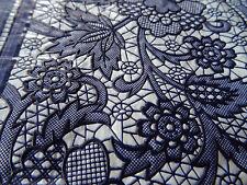 90X90 cm  Tischdecke Blau Vinyl TISCHDECKE SCHUTZDECKE Blumenmuster RUND QUADRAT
