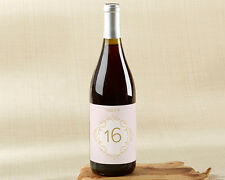1-20 Modern Romance Wine Label Table Numbers Wedding Table Numbers