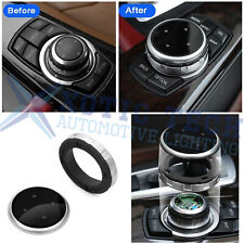 1pc Silver Multi - Media Knob Controller Wheel Cover For Bmw X1 X3 X5 X6 Idrive (Fits: Bmw)
