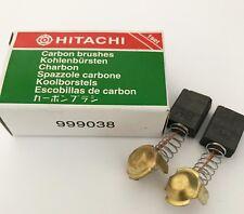 Véritable Hitachi Brosses Carbone 999038 pour C10FCH C10FCE TR12 C10FB C7BD HT2G