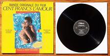"""LP BOF """" Cent francs l'amour """" Mort SHUMAN - Milan A 261 - Disque proche du NEUF"""