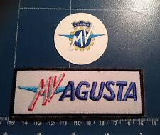 MV Agusta High quality 100mm embroidered patch & phone sticker, sew or iron on