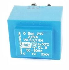 BLOCK TRAFO VB 3,2/1/24 SHORT CIRCUIT PROOF PCB TRANSFORMER 24V, VB 3,2/50