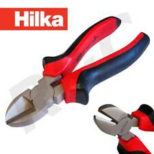 "Hilka 6"" Diagonal Cutting Pliers Side Cutters Wire Cable Cutter Plier Snips"