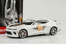 2017 CHEVROLET CHEVY CAMARO SS INDY PACE CAR 50th Anniversary 1:18 Auto World