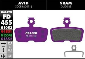 Galfer Disc Brake Pads Sram Code - E-Bike Compound - Purple Mountain Bike MTB