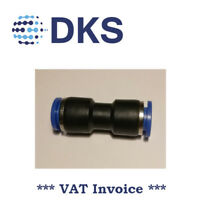 Straight Equal Push In Fit Pneumatic Fittings Air 8mm Connector tube 000618