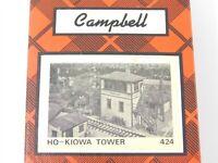 HO 1/87 Scale Campbell Models 424 Kiowa Tower Craftsman Building Kit