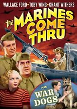 The Marines Come Thru (1938) / War Dogs (1942) NEW DVD