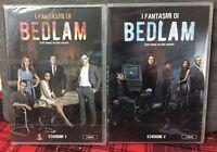 I Fantasmi di Bedlam STAGIONE 1 e 2  DVD 4 dischi in 2 Box Nuovo Sigillato N