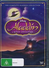 Aladdin The Complete 3-movie Collection DVD NEW Reion 4