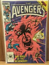 "Marvel Comics, The Avengers #265, ""Eve Of Destruction"", Secret Wars II, NM"