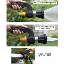 New listing Mighty Blaster Spray Nozzle Car Washing Garden Hose Watering Flower Plant Wands