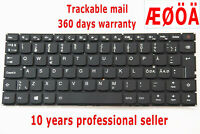 For Lenovo IdeaPad 510S-13ISK 510S-13IKB Keyboard Nordic Swedish Danish Backlit