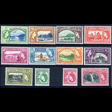 TRINIDAD & TOBAGO 1953-59 Set of 12 Values SG 267-278a Mint Never Hinged(AT076B)