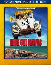 Disney Car The Love Bug Sequel Herbie Goes Bananas Family Comedy on Blu-ray
