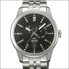 Orient Black Trooper Automatic Watch with Sapphire Crystal, Bracelet #ET0S001B